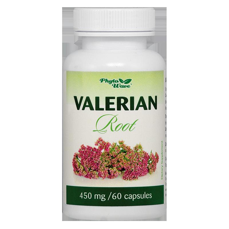 Valerian Root/ Валериана (корен) 450 mg х 60 капсули