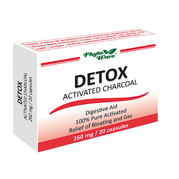Detox Activated Charcoal/ Детокс...