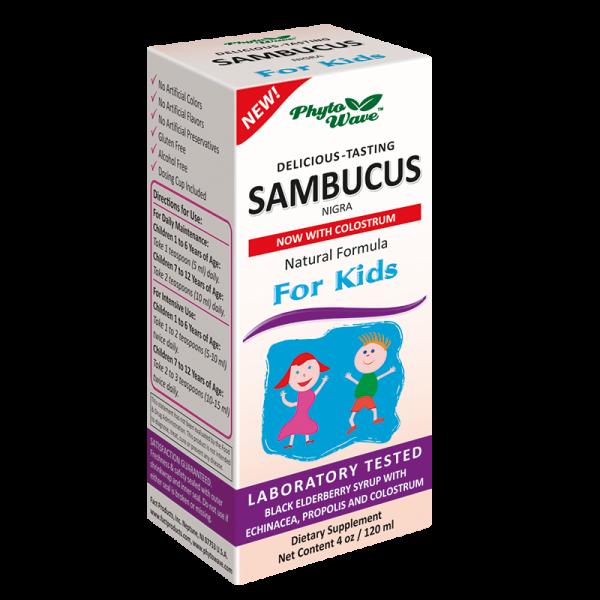 Sambucus Nigra for Kids/ Самбукус...