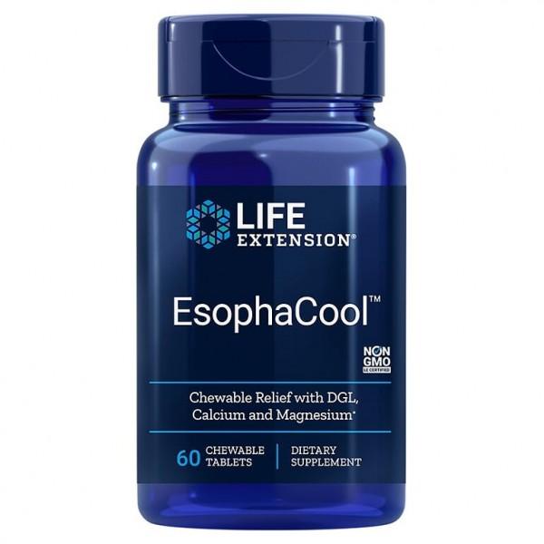 EsophaCool™, 60 дъвчащи таблетки