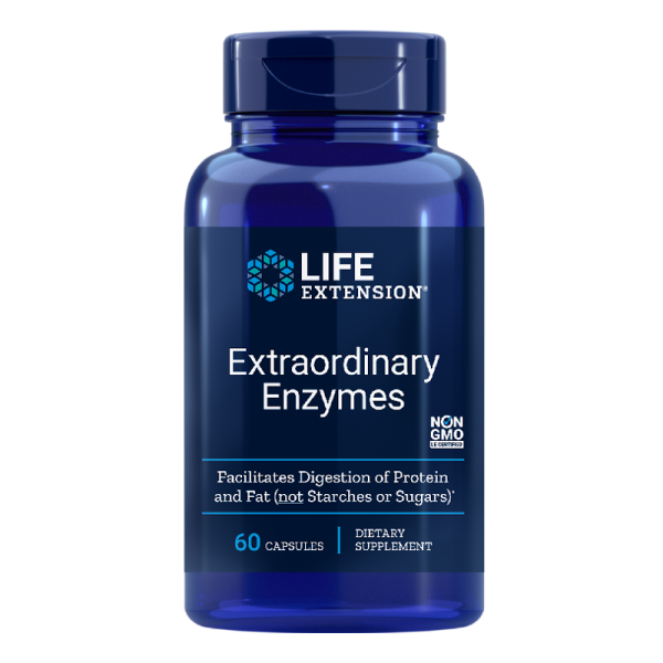 Extraordinary Enzymes, 60 капсули