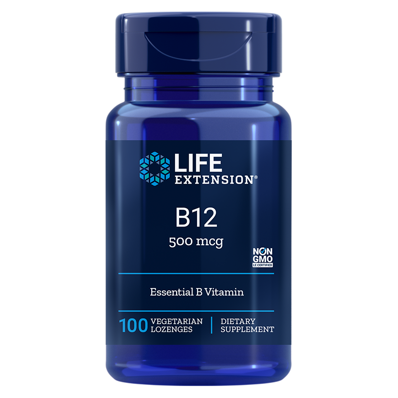 Vitamin B12/ Витамин В12 500 mcg x 100 таблетки за смучене