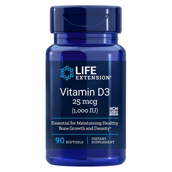 Vitamin D3 / Витамин D3 1000 IU, 90...