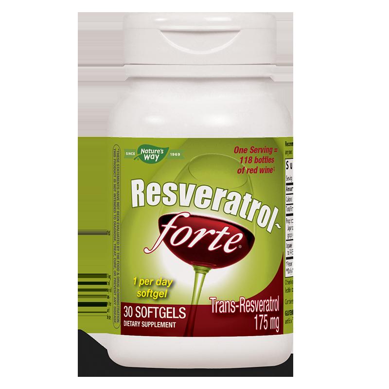 Resveratrol-Forte / Ресвератрол-Форте х 30 софтгел капсули