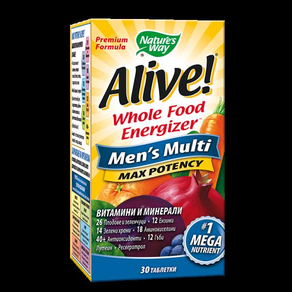 Alive! Men's Multi Max Potency /...