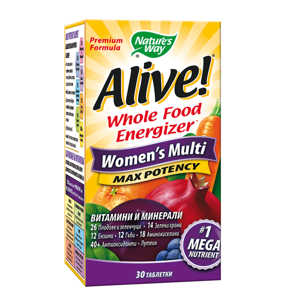 Alive! Women's Multi Max Potency/...