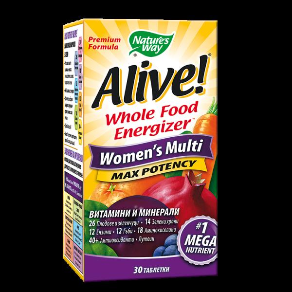 Alive! Women's Multi Max Potency/...