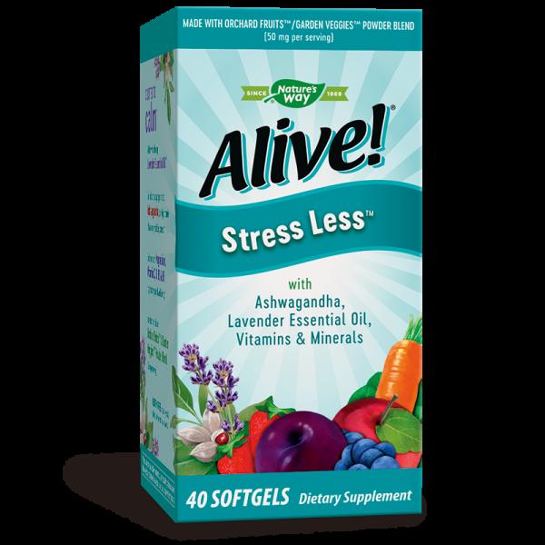 Alive! Stress Less / Алайв! Формула...