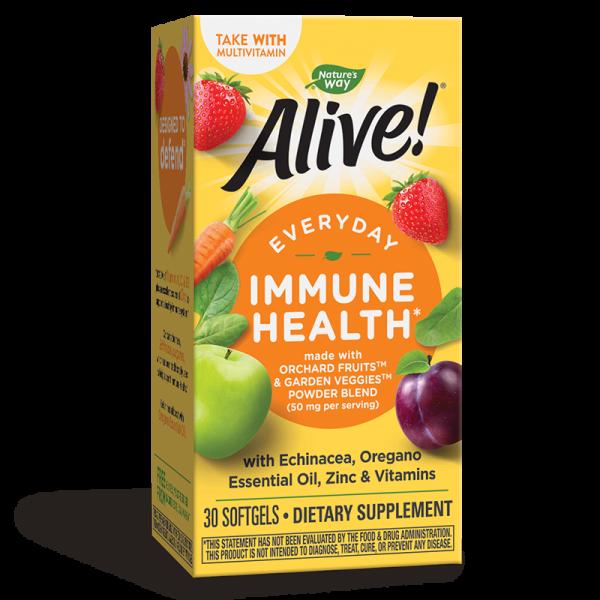 Alive! Immune Health x 30 софтгел...