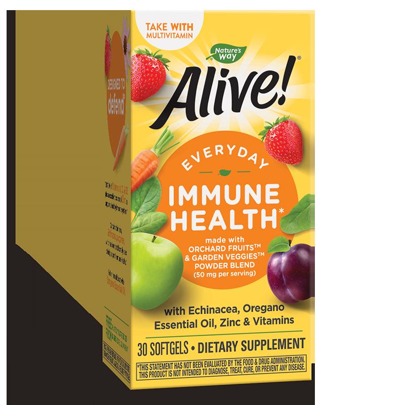 Alive! / Алайв! Immune Health x 30 софтгел капсули