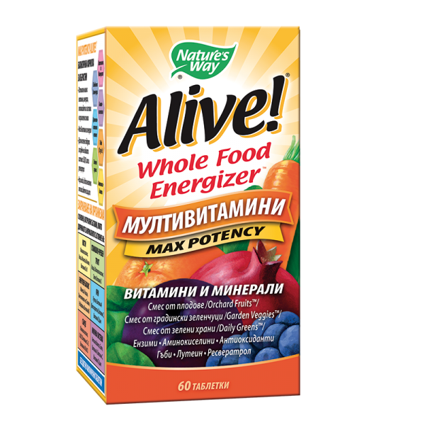 Alive! Multi-Vitamins / Алайв...