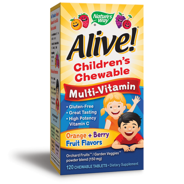 Alive! Children's Chewable...