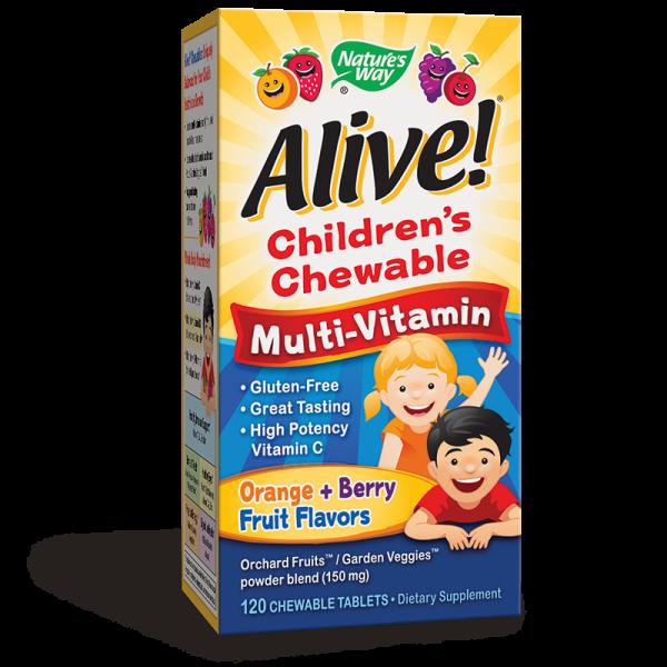 Alive! Children's Chewable...