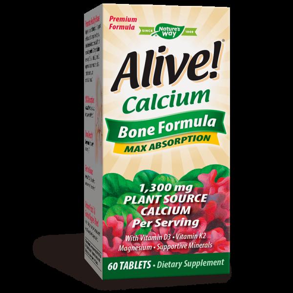 Alive! Calcium Bone Formula / Алайв!...