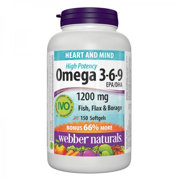 Omega 3-6-9/ Омега 3-6-9 1200 mg x...