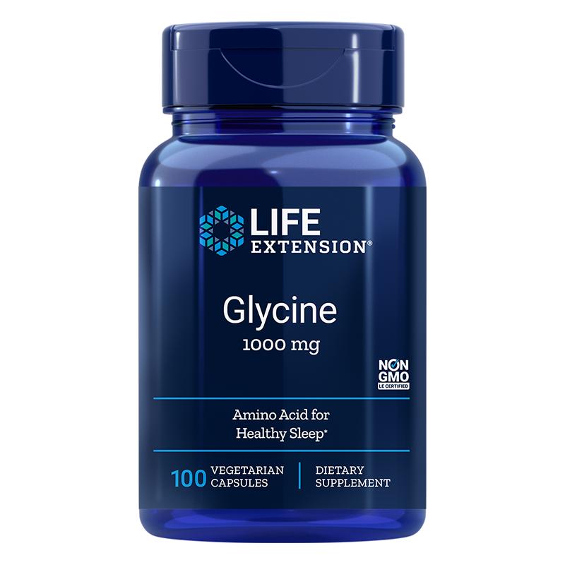 Glycine / Глицин 1000 mg, 100 капсули