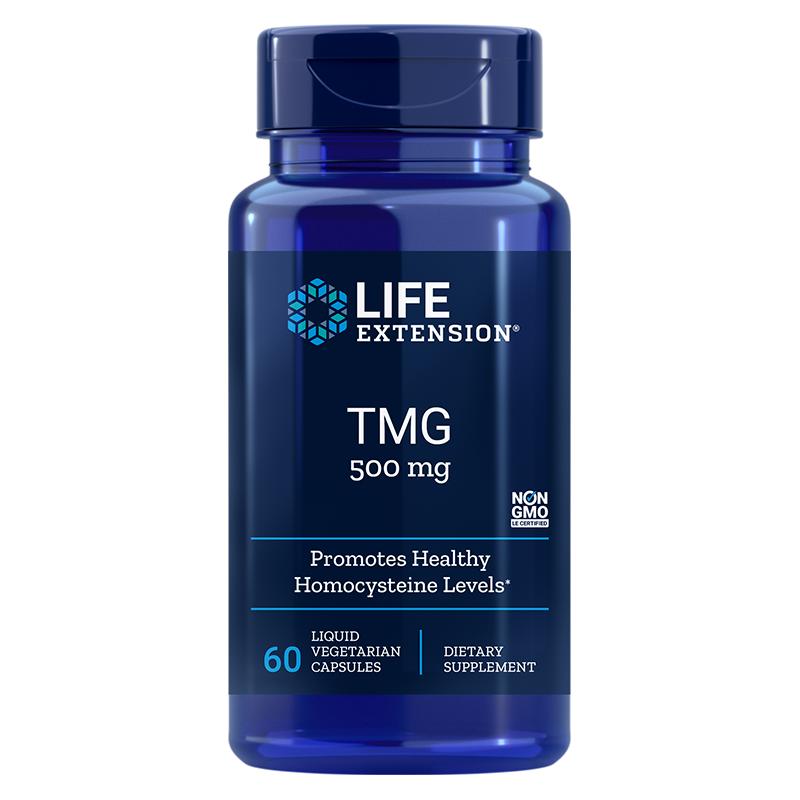 TMG / ТМГ (ТриМетилГлицин) 500 mg х 60 капсули