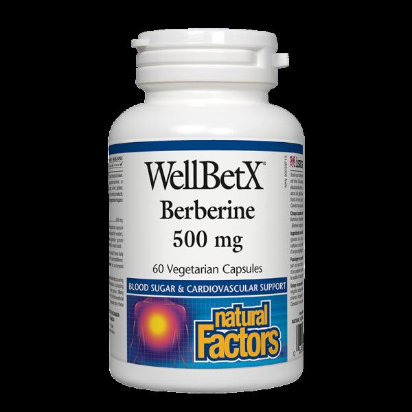 WellBetX® Берберин 500 mg