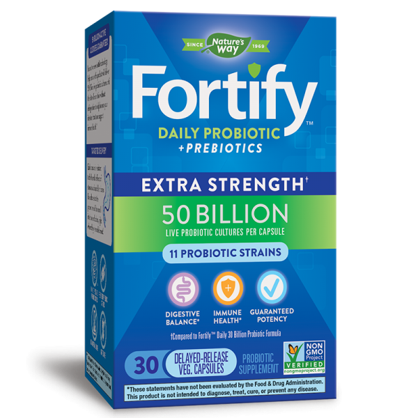 Fortify™ Daily Probiotic Extra...