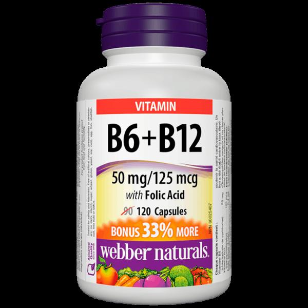 Витамин В6+В12+Фолиева киселина x 120...