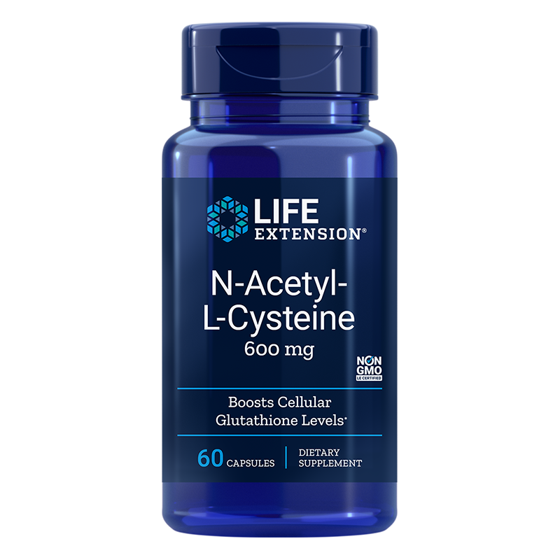 N-Acetyl-L-Cysteine / Н-Ацетил-Л-Цистеин 600 mg х 60 капсули