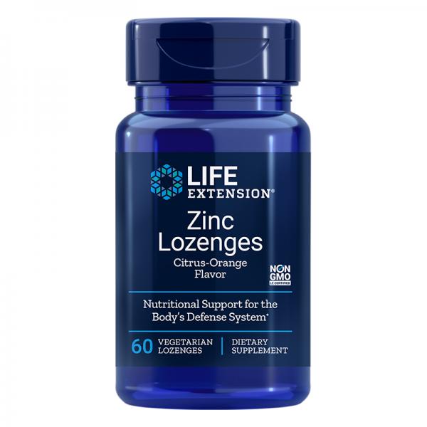 Zinc Lozenges / Цинк х 60 таблетки за...