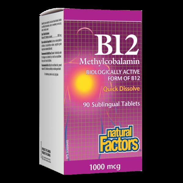 Витамин В12 (Метилкобаламин) 1000 µcg...