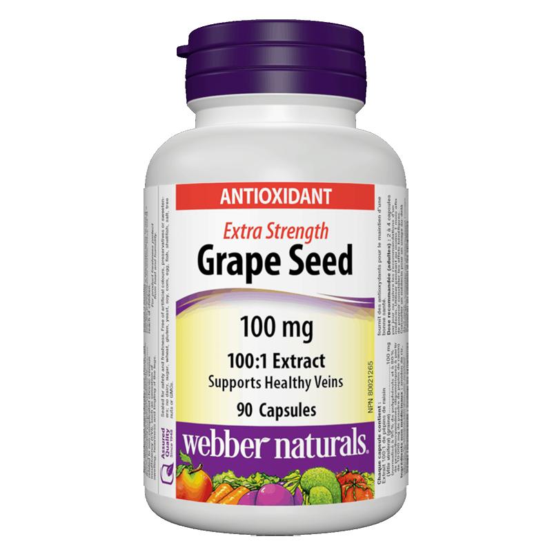 Grape Seed Extract 100:1/ Гроздово семе 100 mg x 90 капсули