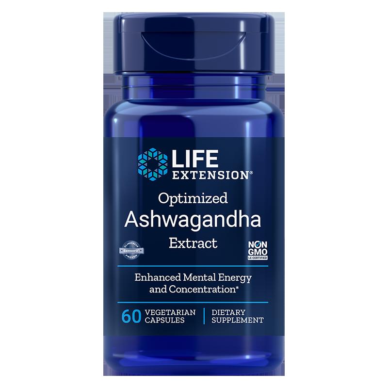 Optimized Ashwagandha Extract/ Ашваганда 125 mg x 60 капсули