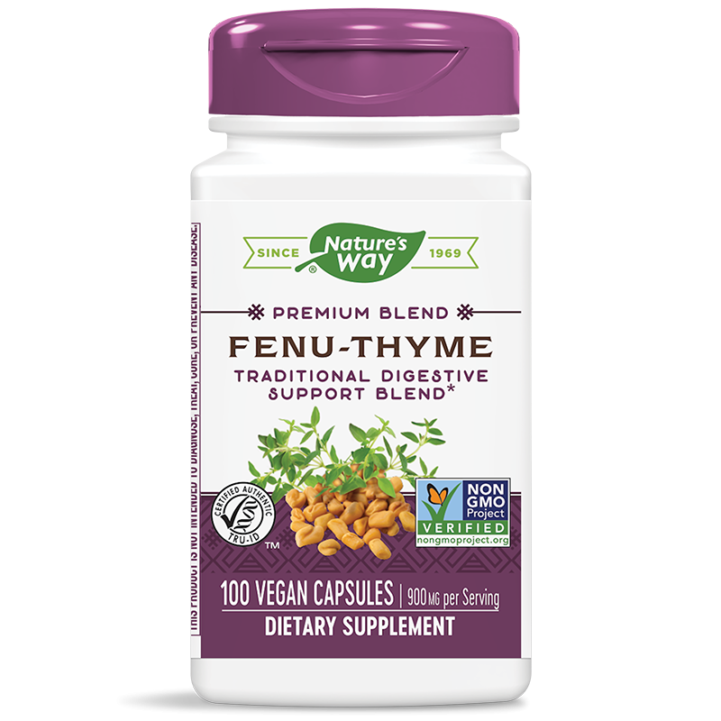 Fenu-Thyme / Сминдух и мащерка х 100 капсули