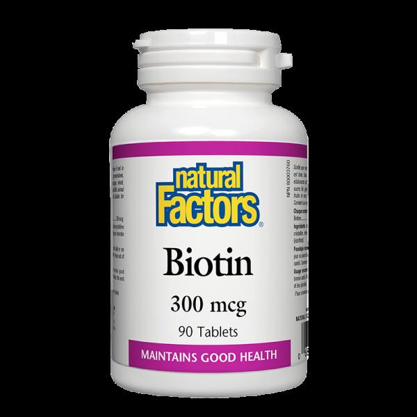 Biotin/ Биотин 300 mcg x 90 таблетки