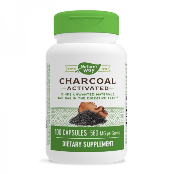 activated-charcoal-aktiven-vaglen-280-mg-100-kapsuli