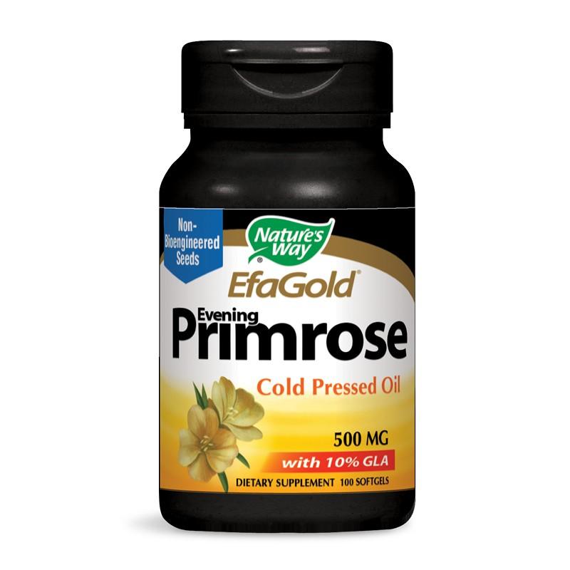 Evening Primrose 10% GLA/ Вечерна иглика 500 mg х 100 софтгел капсули