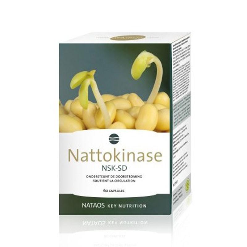 Nattokinase NSK-SD 2000 FU Activity/ Натокиназа 100 mg x 60 капсули