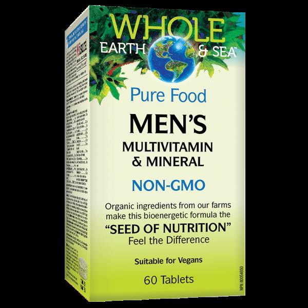 Men's Multivitamin & Mineral Whole...