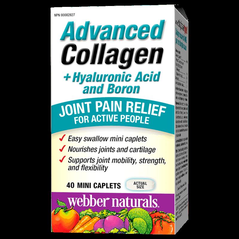 Advanced Collagen+Hyaluronic Acid and Boron/ Колаген + Хиалуронова киселина и Бор х 40 мини каплети