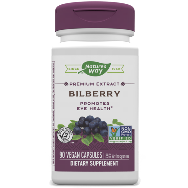 Bilberry/ Черна боровинка и Бъз х 90...