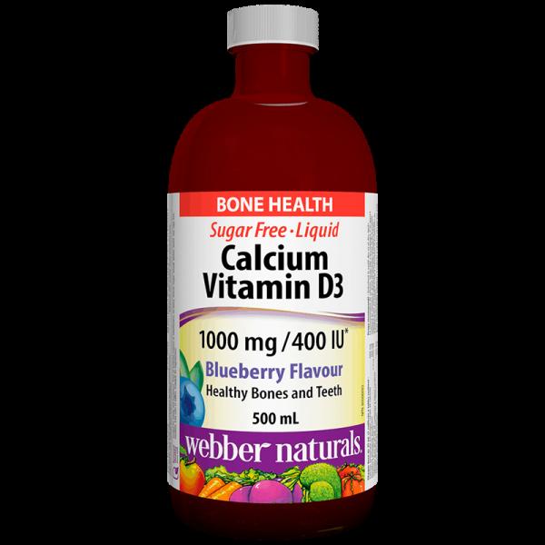 Calcium & Vitamin D3 Liquid/ Калций...