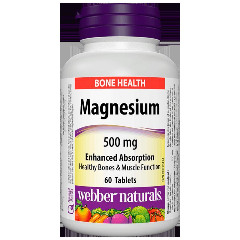 Magnesium/ Магнезий 500 mg x 60 таблетки с оптимална абсорбция