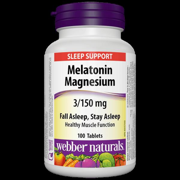 Melatonin + Magnesium/ Мелатонин 3 mg...
