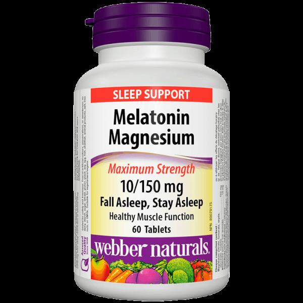 Melatonin + Magnesium/ Мелатонин 10...