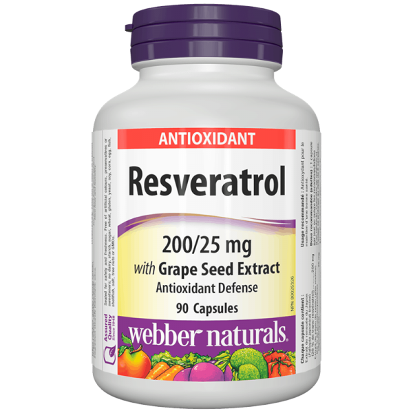 Resveratrol with Grape Seed Extract/...