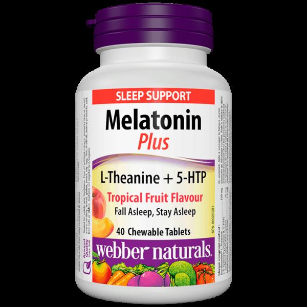 Melatonin Plus L-Theanine Мелатонин +...