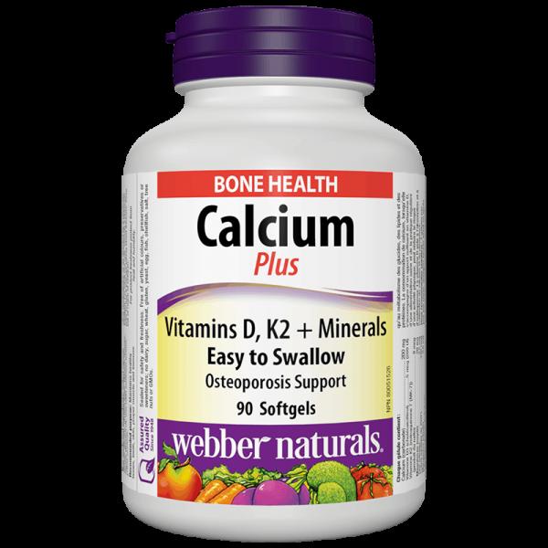 Calcium plus Vitamins D, K2 +...