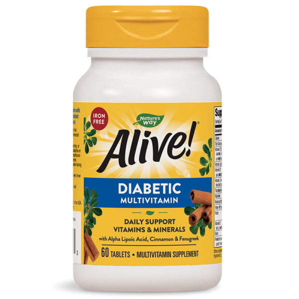 Alive! Diabetic Multivitamin / Алайв!...
