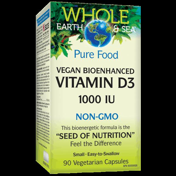 Vitamin D3 Whole Earth & Sea®/...