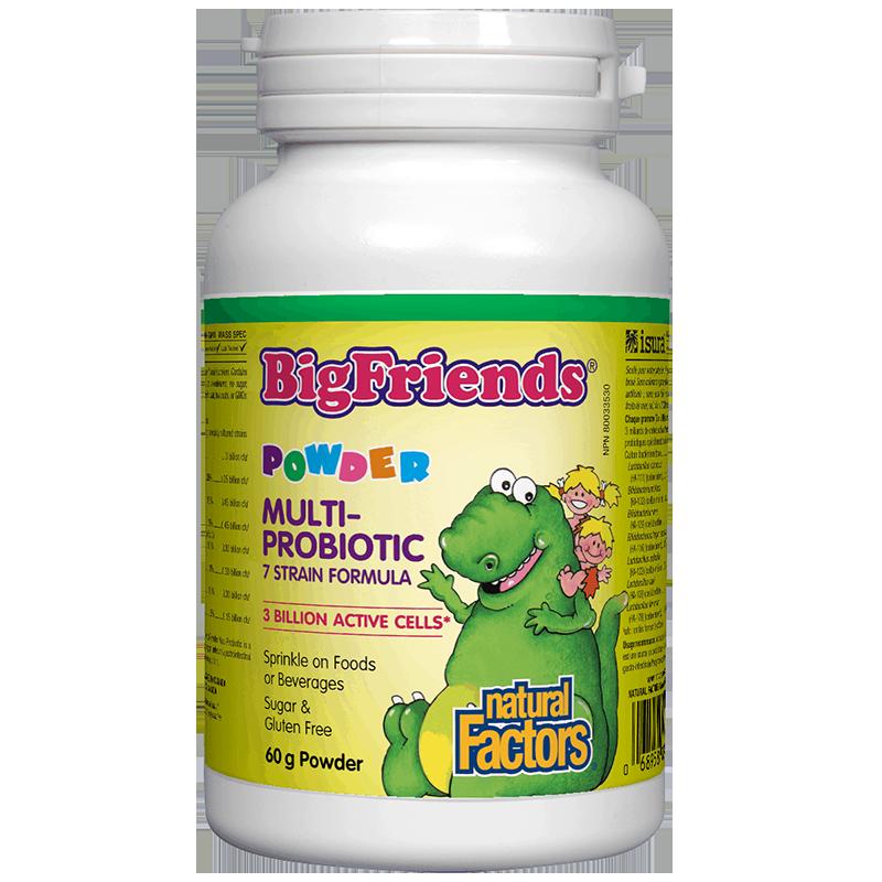 Multi-Probiotic Powder Big Friends®/ Мулти пробиотик за деца 3 млрд. активни пробиотици x 60 g пудра
