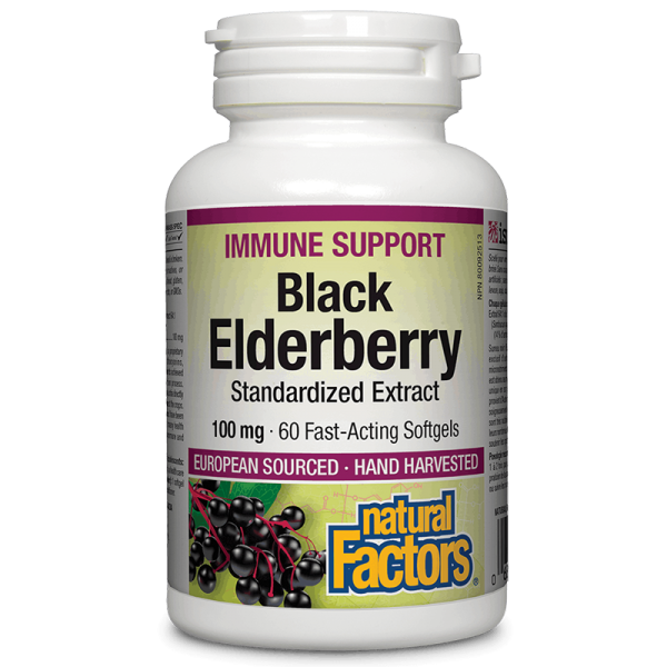 Black Elderberry Standardized Extract...