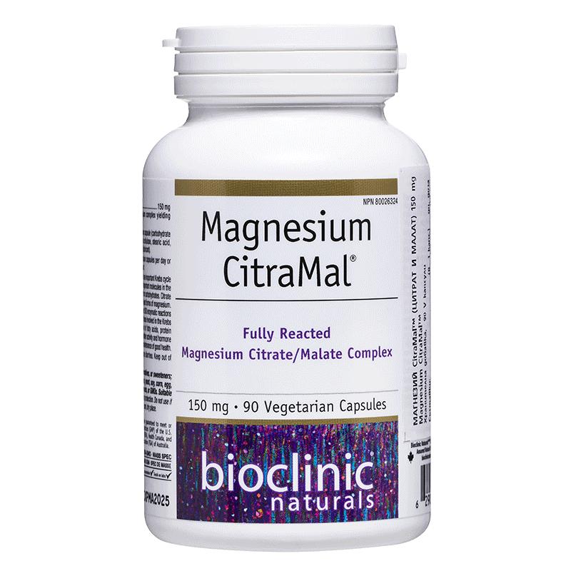 Magnesium CitraMal™/ Магнезий (цитрат и малат) 150 mg x 90 капсули