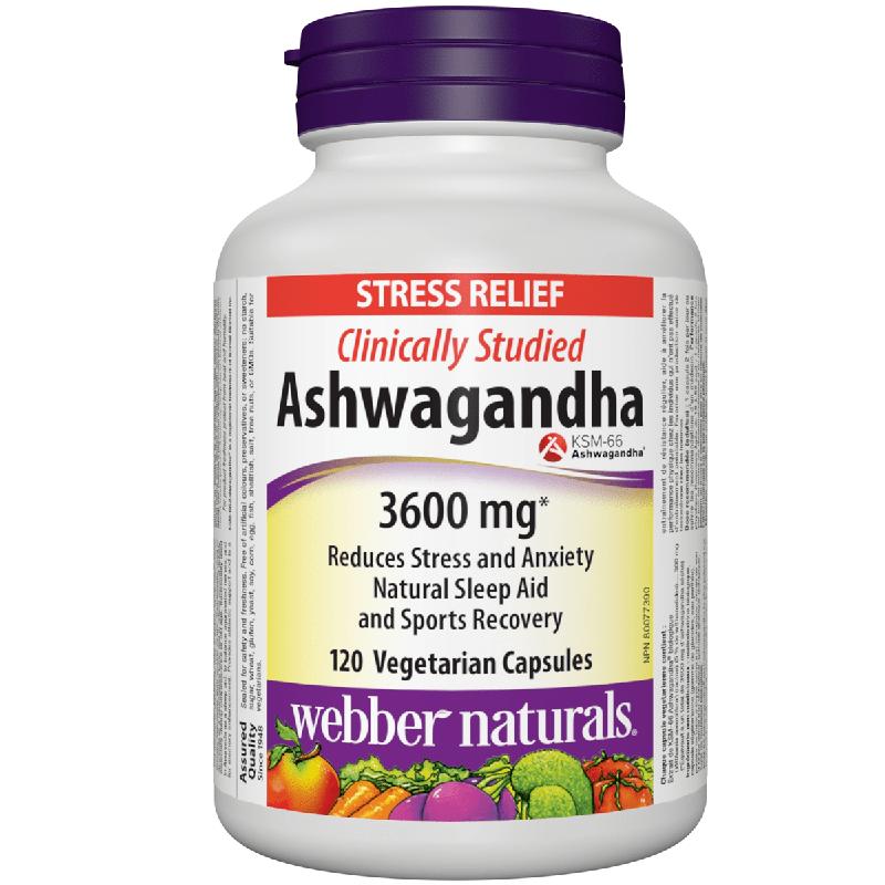 Ashwaganda / Ашваганда 300 mg x 120 капсули